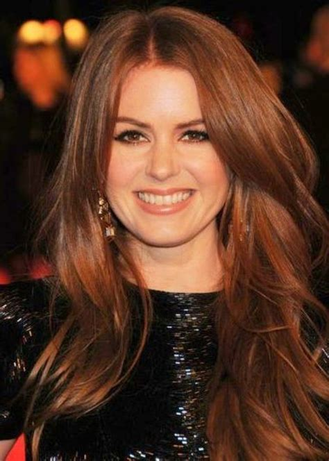 acors with auborn hair medium dark auburn isla fisher 25 celebrities that