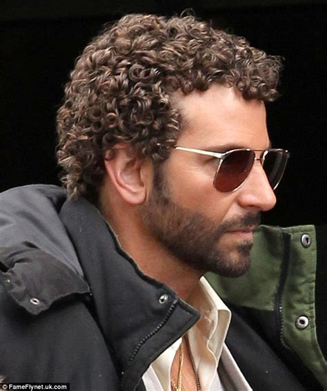 man with curly hair i the movie cruising bradley cooper shows off his perm onset with jennifer