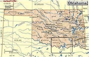 oklahoma border map lemonaid for and oklahoma