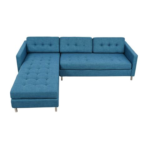 cb2 peacock sofa sectionals used sectionals for sale