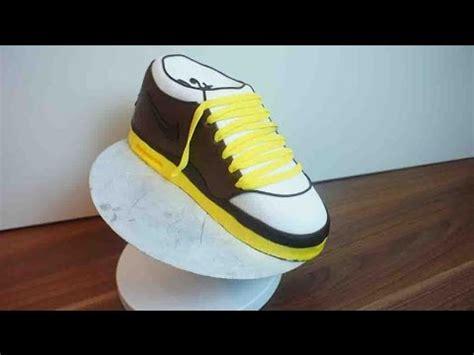 kuchen schuhe sneaker torte nike schuh kuchen tutorial schuh torte