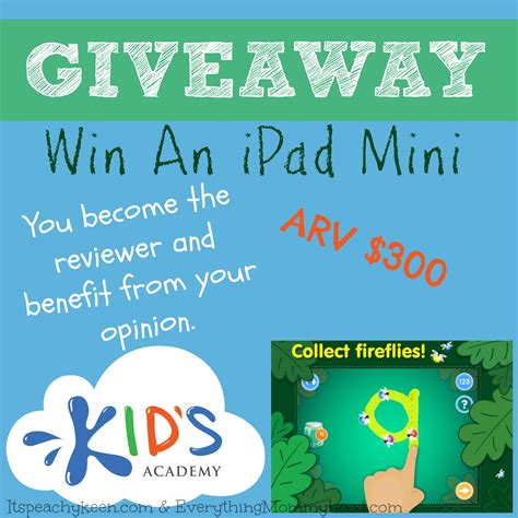 Giveaway App - test review an ios app free then enter to win an ipad mini sahm plus