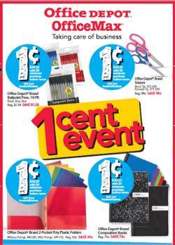Office Depot Coupons For Teachers Office Depot Office Max Deals For Back To School