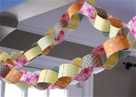 Handmade Birthday Decorations - a handmade birthday frugal ways to decorate