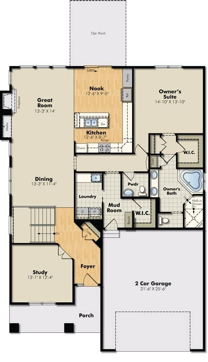 floor plans basements: like this floor plan then also has huge finished basement