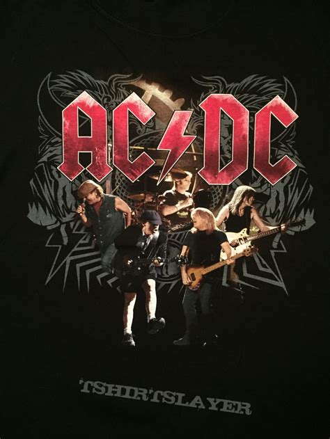 Acdc Black Tour Black Tshirt ac dc black 2008 tour shirt tshirtslayer tshirt