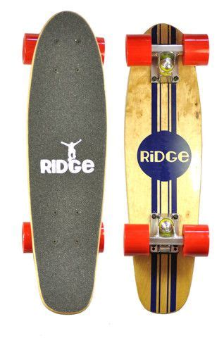 mini cruiser skateboard decks ridge 22 quot original wooden mini maple cruiser complete