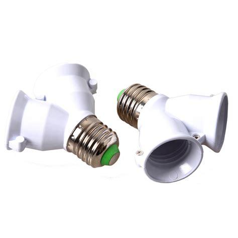 Dual Screw To Bayonet Socket Light Bulb L Converter Light Plugs