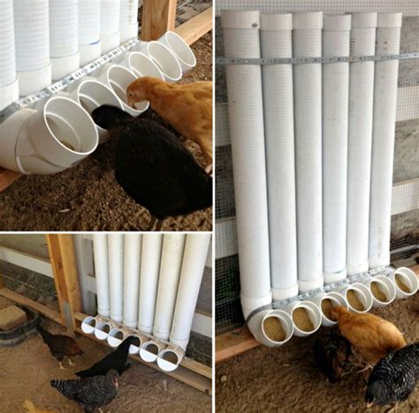 How To Make A Chicken Feeder wonderful diy recycled chicken coops