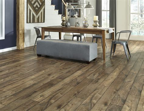 Farmhouse Floors by Antique Farmhouse Hickory A Home Laminate With A