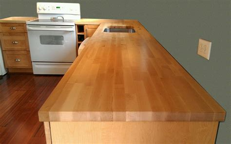 maple bar top butcher block countertops modern diy art design collection