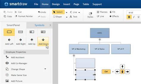 free organizational chart maker organizational chart maker make org charts free trial