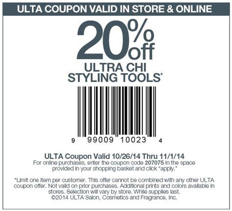 printable ulta coupons 2017 ulta 20 off ultra chi coupon through january 1