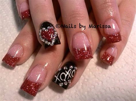 acrylic nails for valentines valentines acrylic nails nails