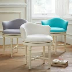 Bedroom Vanity Chair With Back Minnie Vanity Stool Pbteen