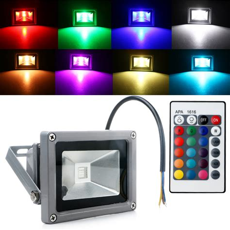 Rgb Landscape Lighting Waterproof Rgb Led Flood Light Landscape Spot L Spotlight Security Outdoor Ebay