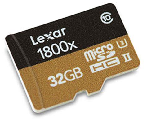 Micro Sd Uhs 2 lexar professional 1800x microsd uhs ii 32gb memory card