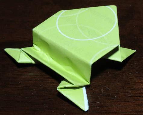 Origami Jumping Frog Pdf - jumping frog printable origami