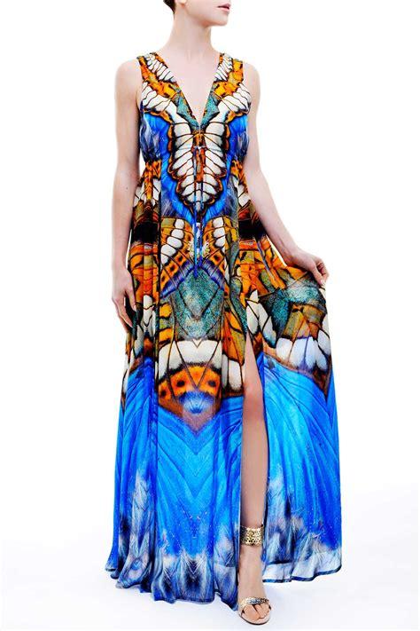Longdress Butterfly resort wear butterfly dresses designer butterfly dresses shahida parides shahida