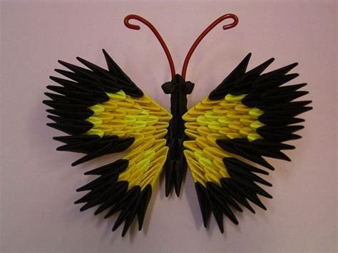 Origami 3d Butterfly - 17 best images about origami 3d on quilling