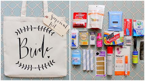 Wedding Emergency Kit by State Diy Wedding Day Survival Kit