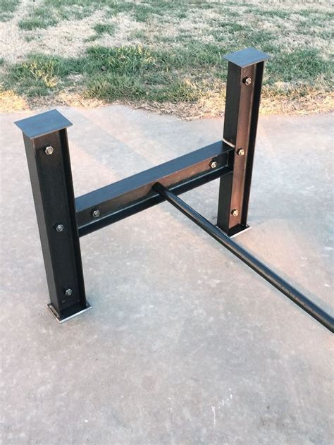 steel dining table base best 20 wrought iron table legs ideas on