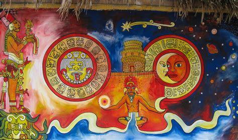 imagenes de murales mayas mural maya foto de archivo editorial imagen de modelos