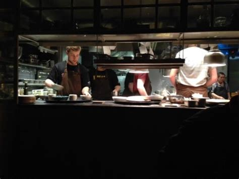 Kol Kitchen Bar by Kitchen As Seen From Chef S Table Picture Of Kol