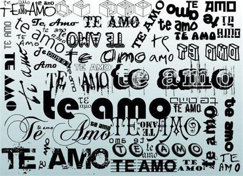 imagenes de letras goticas que digan te amo imagenes que digan te amo