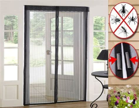 Door Mesh Curtain magic curtain door mesh magnetic fastening free fly