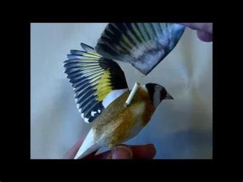 Realistic Papercraft - top 25 ideas about still birds on skin