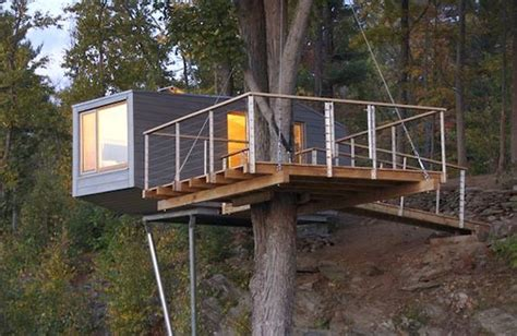 Tree House Plans On Stilts Shipping Container Treehouse Shipping Container Buildings House On Stilts Home