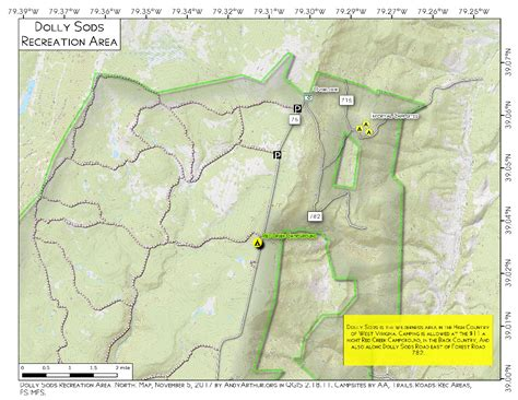 dolly sods map dolly sods wilderness andy arthur org