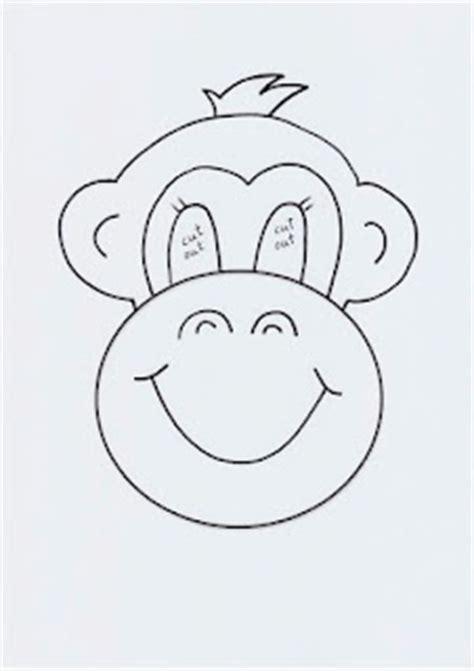 monkey mask template best 20 monkey template ideas on monkey