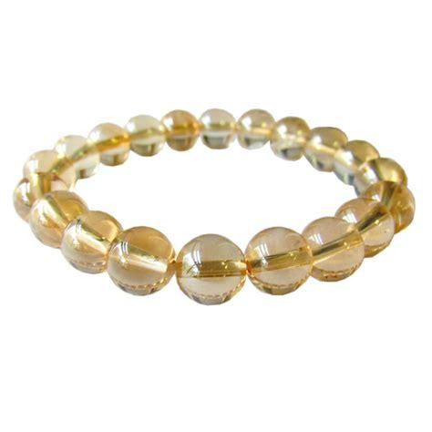 tangerine aura bead bracelets wholesale gemstone