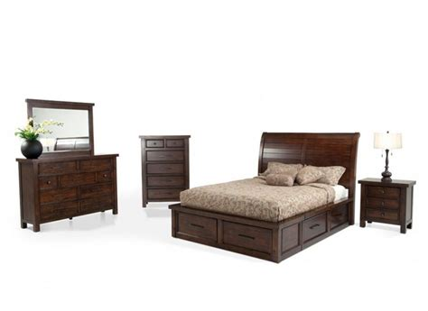 Hudson 8 Piece Queen Storage Bedroom Set Bobs Bedroom Bobs Furniture Bedroom Sets
