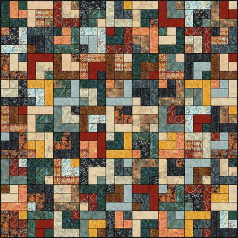 lets quilt something retro cabin free quilt pattern