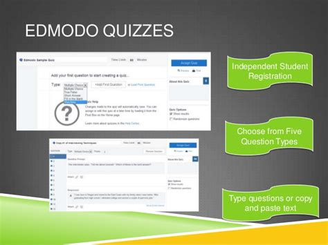 edmodo quiz show results free online assessment tools to prepare students for parcc
