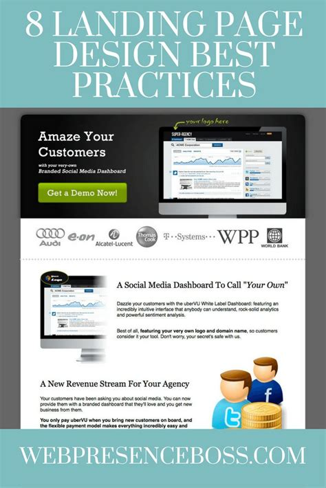landing page best practice best 25 landing page best practices ideas on