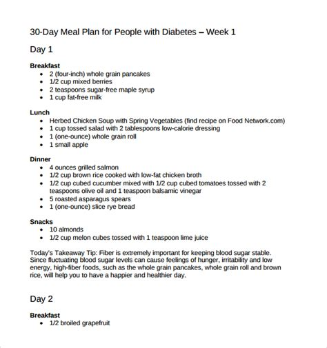 sle diet plan template 9 free documents in pdf word