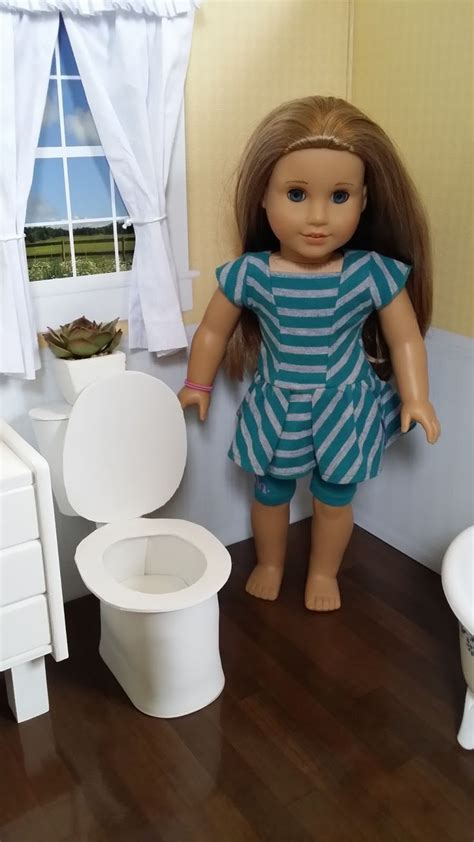 how to make an american girl doll bathroom pin by patty herr on american girl dolls crafts pinterest