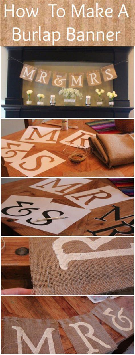 wedding banner diy 8 creative diy wedding ideas you will oh best day