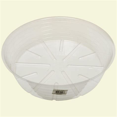 bond manufacturing 15 in clear plastic saucer cvs