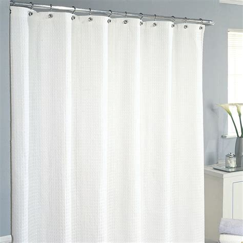 excell shower curtain excell waffle shower curtain by excell home fashions