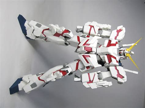 Gundam Unicorn Papercraft - papercraft rx 0 unicorn gundam destroy mode almost