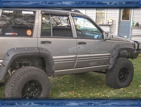 How Wide Is A Jeep Grand Jeep Grand Zj Wheel Arch Extension