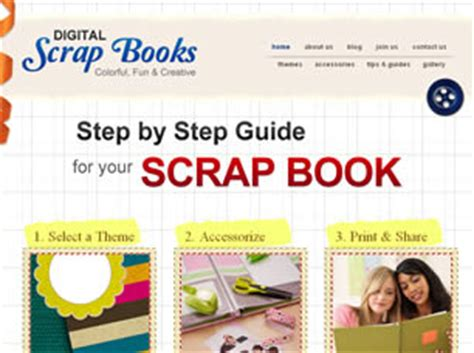 Scrap Books Free Website Template Free Css Templates Free Css Free Website Templates For Book Publishing