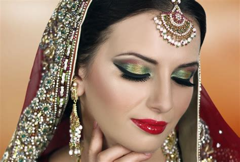 makeup tutorial indian wedding traditional indian bridal makeup tutorial red gold green
