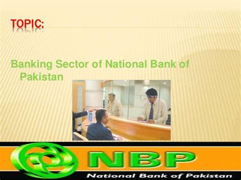 national bank of pakistan national bank of pakistan of mis