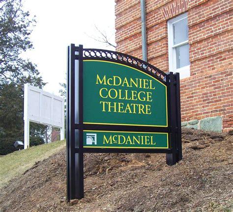 mcdaniel college lh sign company philadelphia pa